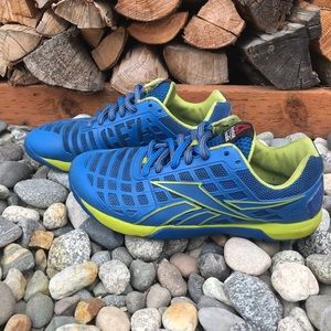 Reebok Nano CF74 RopePro Shoes 8.5 Blue CrossFit